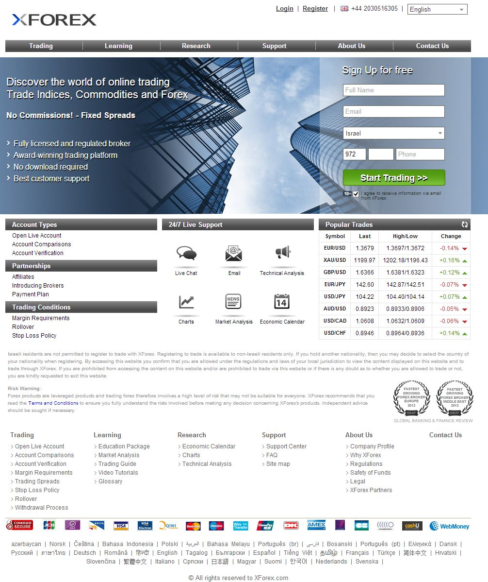 XForex.com - OCM Online Capital Markets Ltd